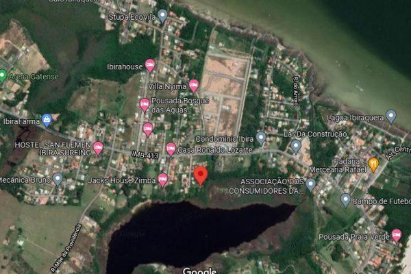 Terreno na Beira da Lagoa Doce